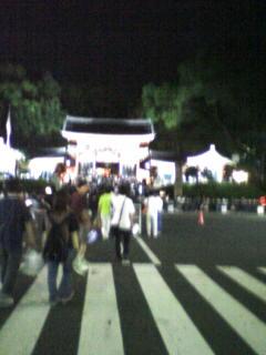 八坂神社ライトアップ