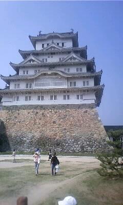 そう!世界遺産!白鷺城!姫路城!!
