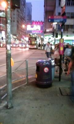 香港って都会ですね!さすが不夜城!