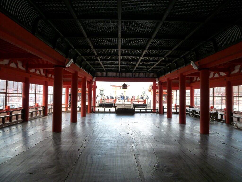 厳島神社 広島 世界遺産 海の上