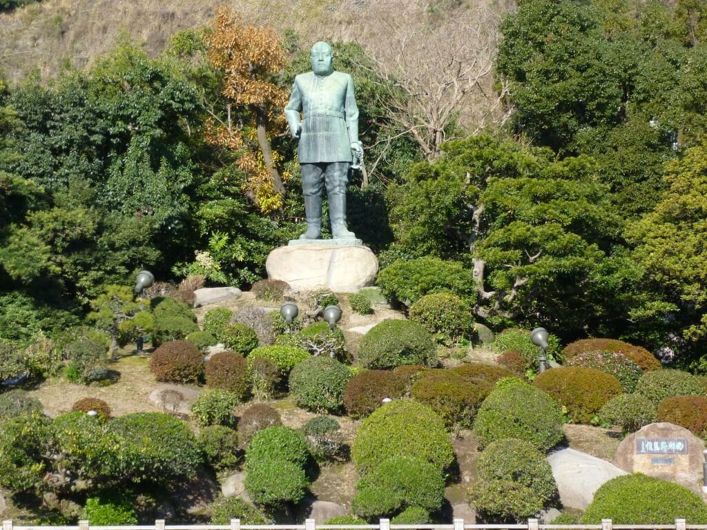 鹿児島観光で城山へ!西郷隆盛終焉の地でに桜島を望む!