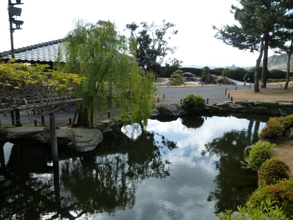 島津家の作った名勝仙巌園!!その景色は・・・住みたい!