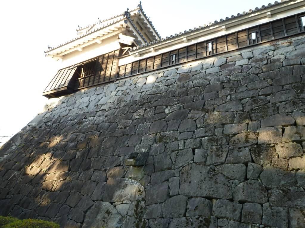 熊本城 石垣 武者返し