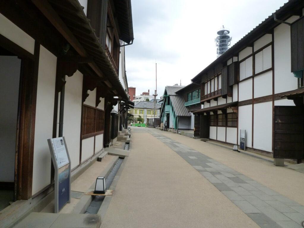 長崎観光は出島へ!復旧作業で色々建物が造られているよ!
