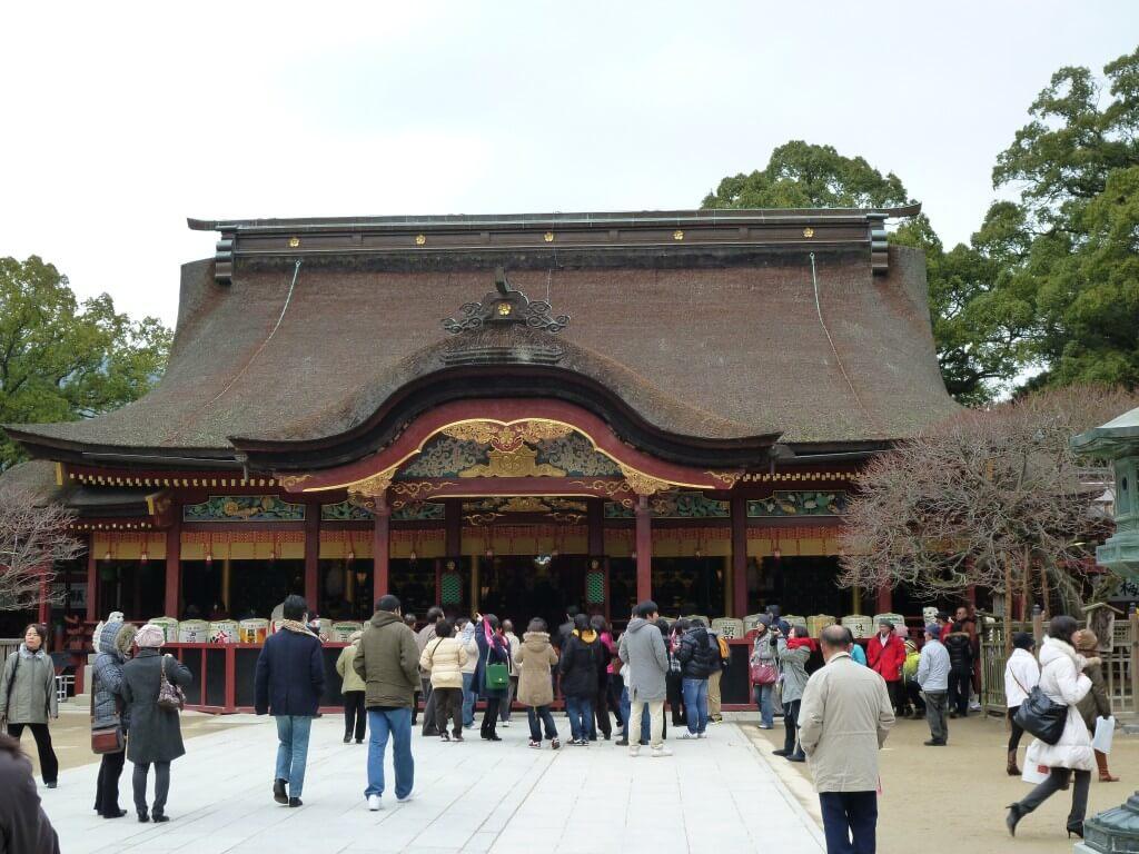 佐賀は面白そうじゃないから博多観光で大宰府天満宮をみて世界一周プレひとり旅終了!