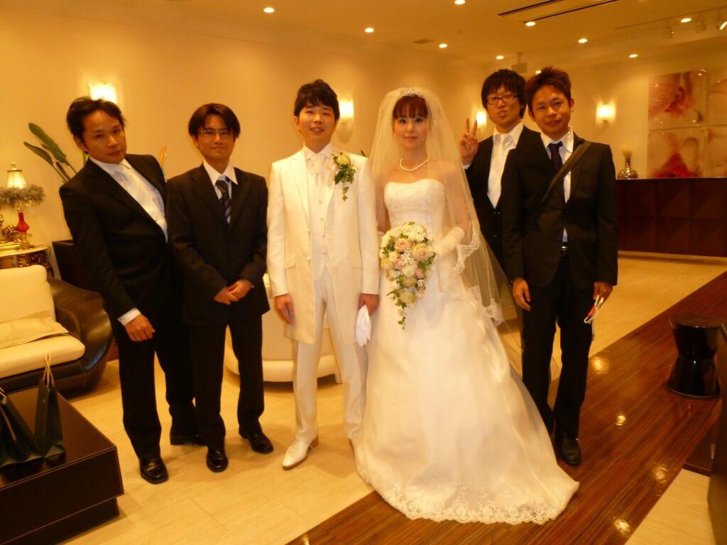 タケ結婚おめっでとう♪また世界一周から帰ってきたら再会しよ!