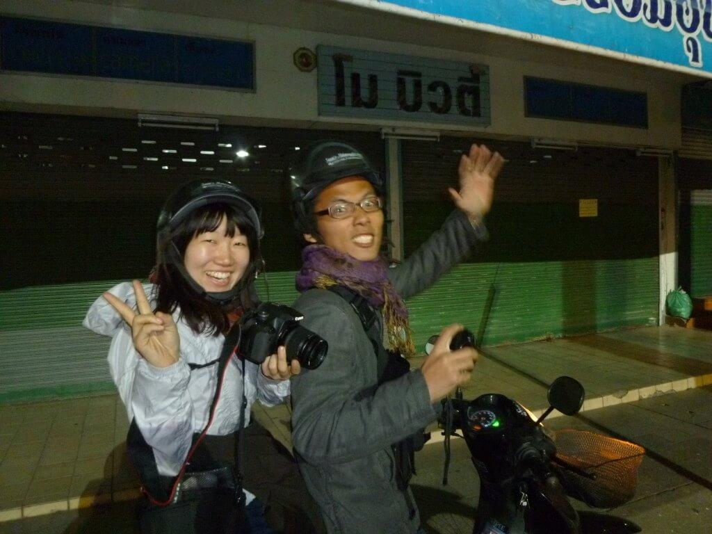 チェンライ レンタルバイク