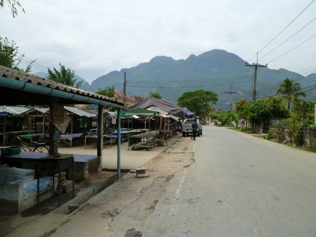 タイ 田舎町
