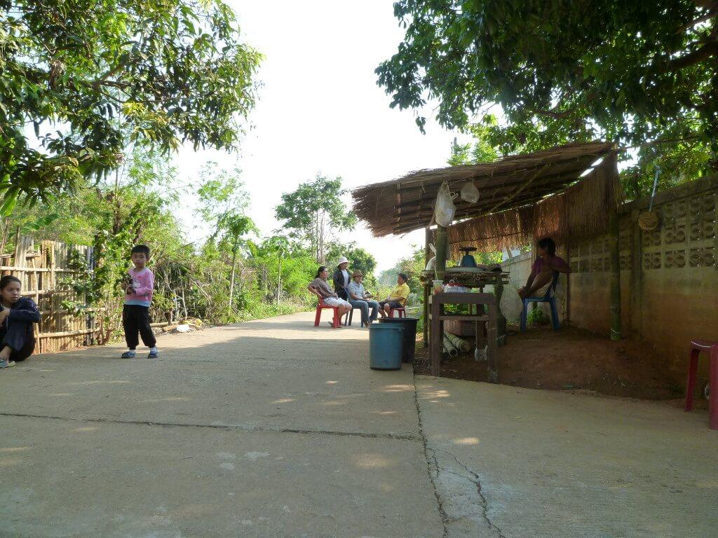 チェンライ 田舎