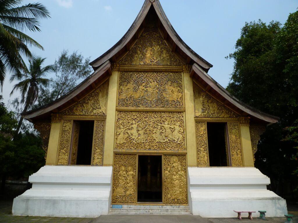 ルアンパバーン ワット・シエントーン ラオス 世界遺産 仏教寺院