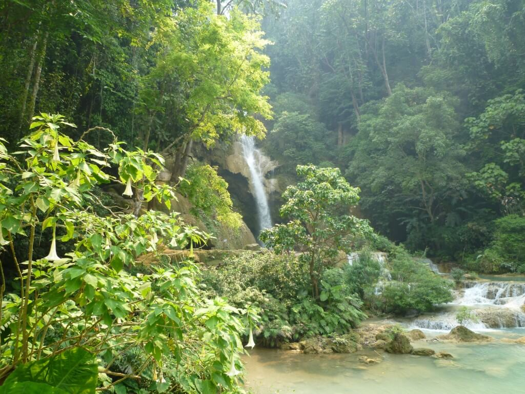 タイのソンクランはチェンマイが有名だけどラオスではルアンパバーンが有名!水かけられまくり(笑)
