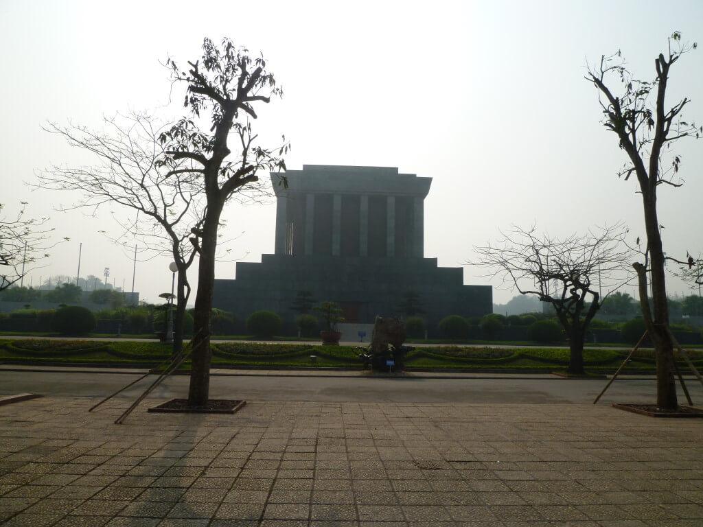 ハノイ ホーチミン廟