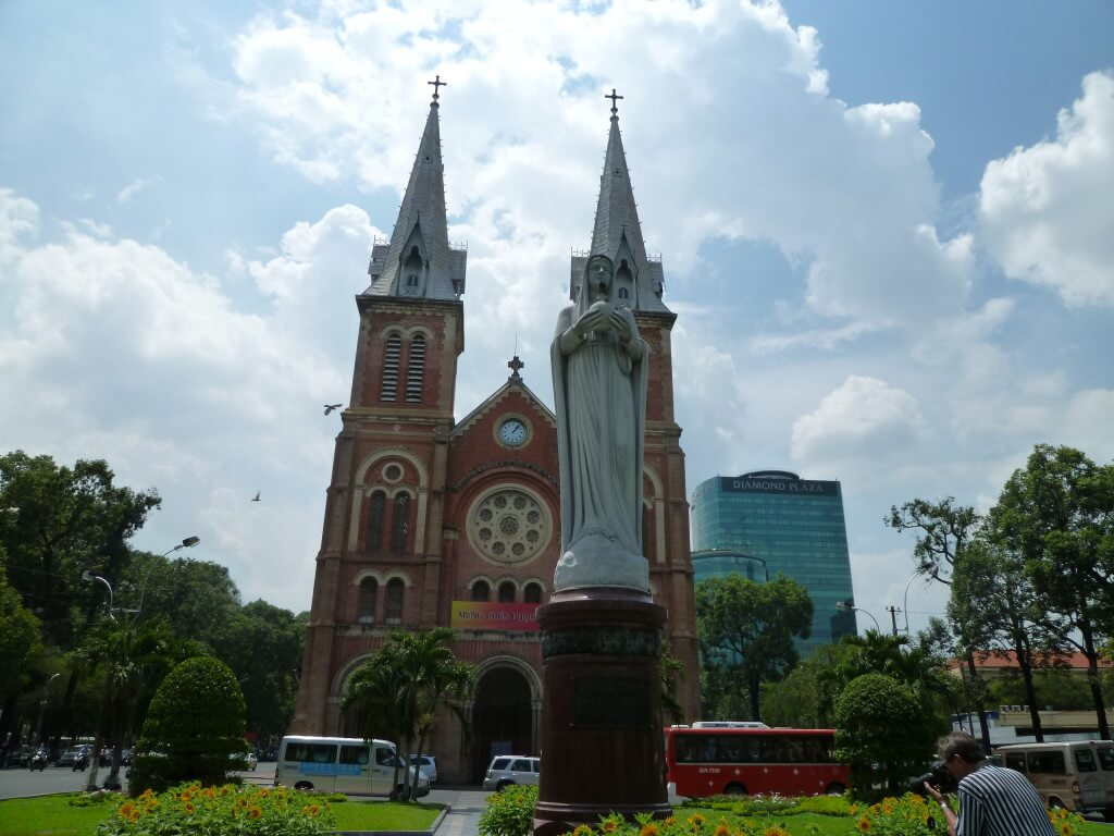 ホーチミン サイゴン大教会
