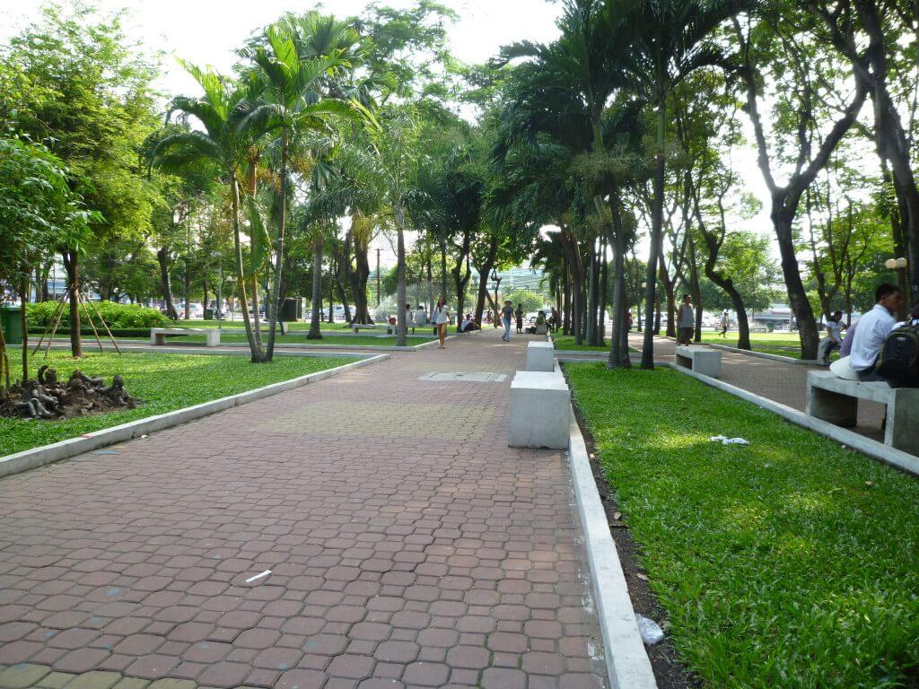 ホーチミン 公園