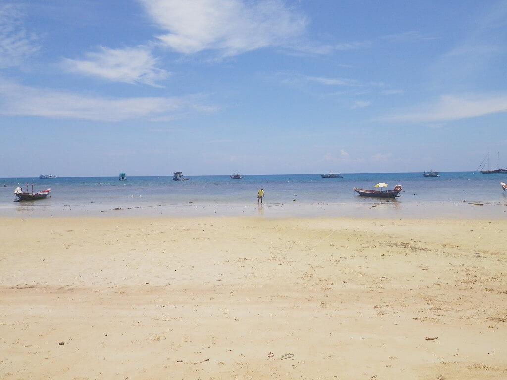 タオ島 ビーチ ボート