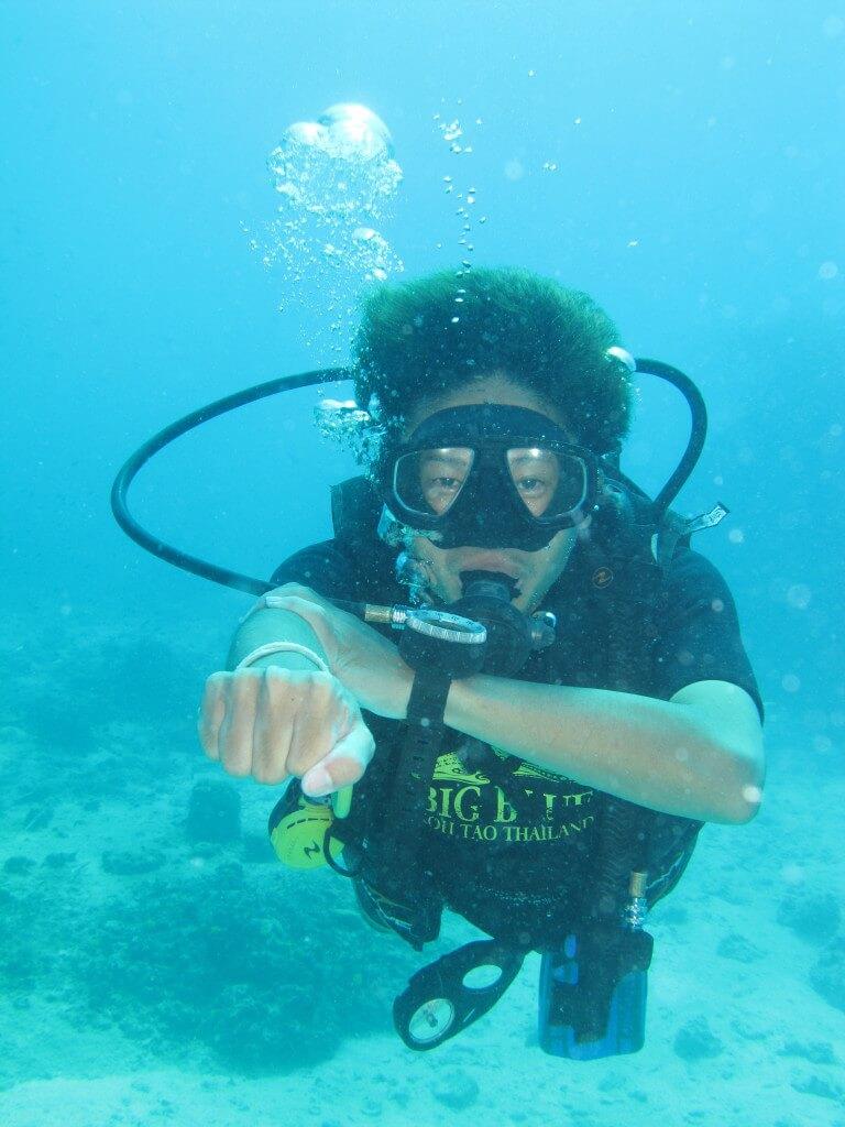 ダイビング オープンウォーター アドバンスウォーター タオ島