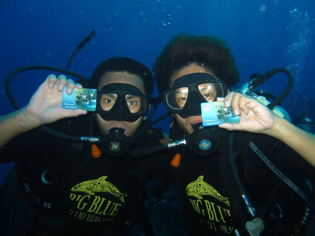 ダイビングライセンス タオ島 ビッグブルー BigBlue