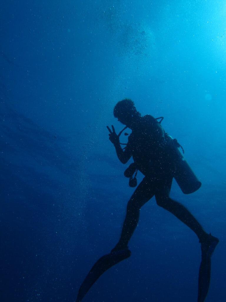 サーモクライン ダイビング