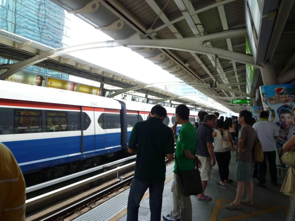 バンコク 電車 MTR