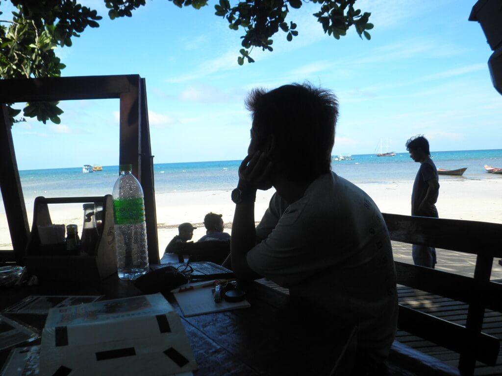 ダイビング 学科の勉強 タオ島