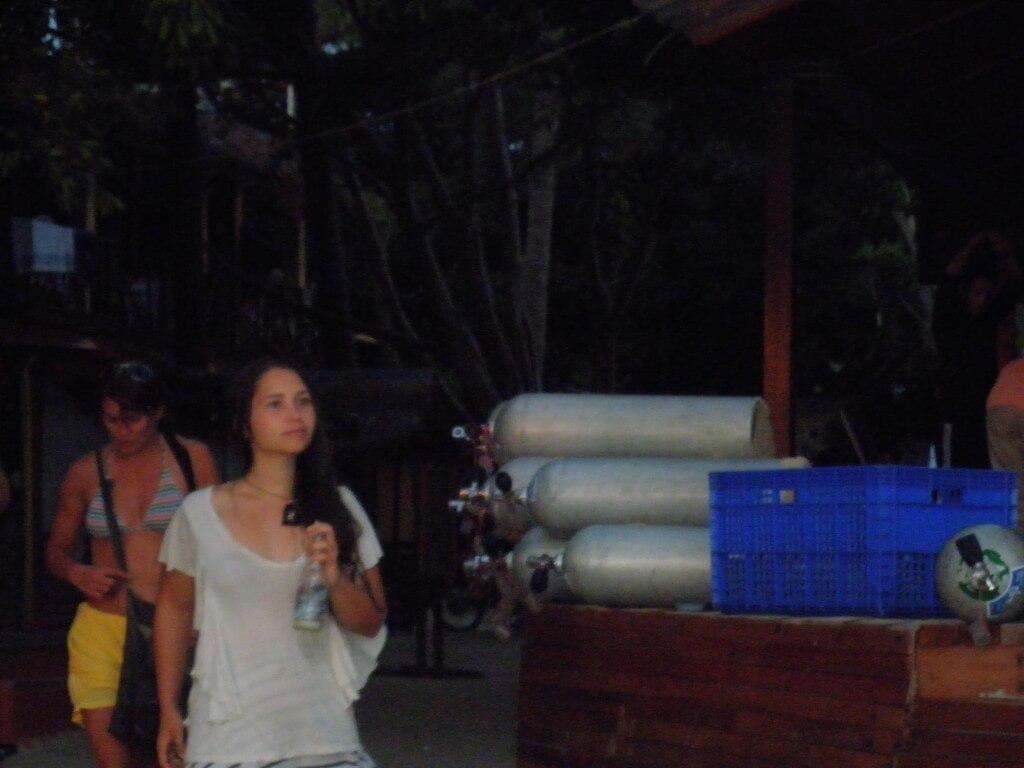 タオ島 かわいい外国人のおねーちゃん