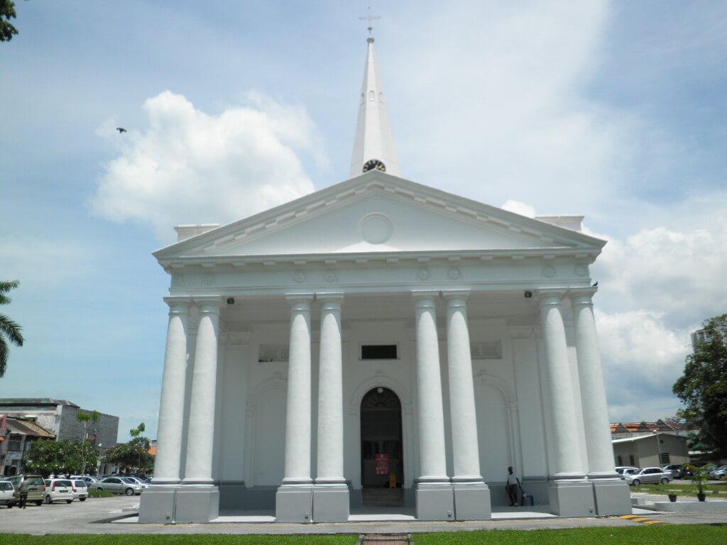 セント・ジョージ教会 ジョージタウン ペナン島