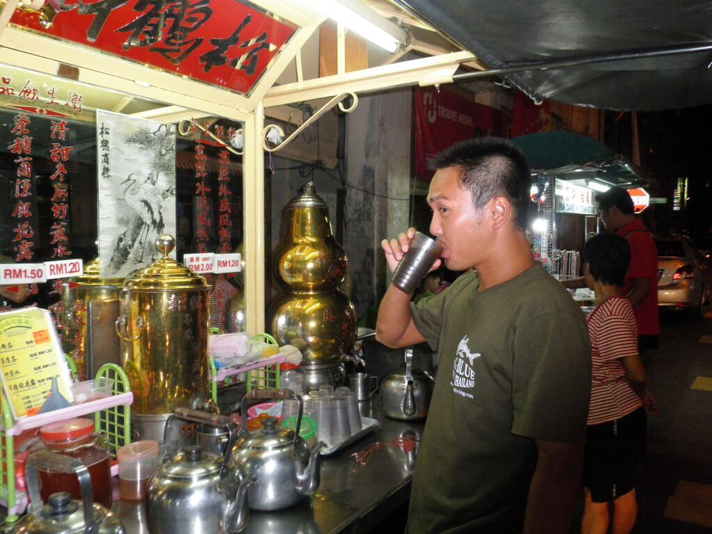 ペナン島 ジョージタウン 中国茶