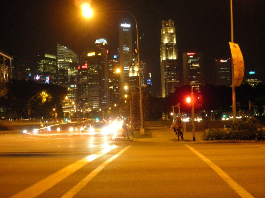 シンガポール 街 都会