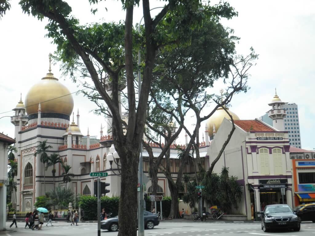 サルタンモスク シンガポール