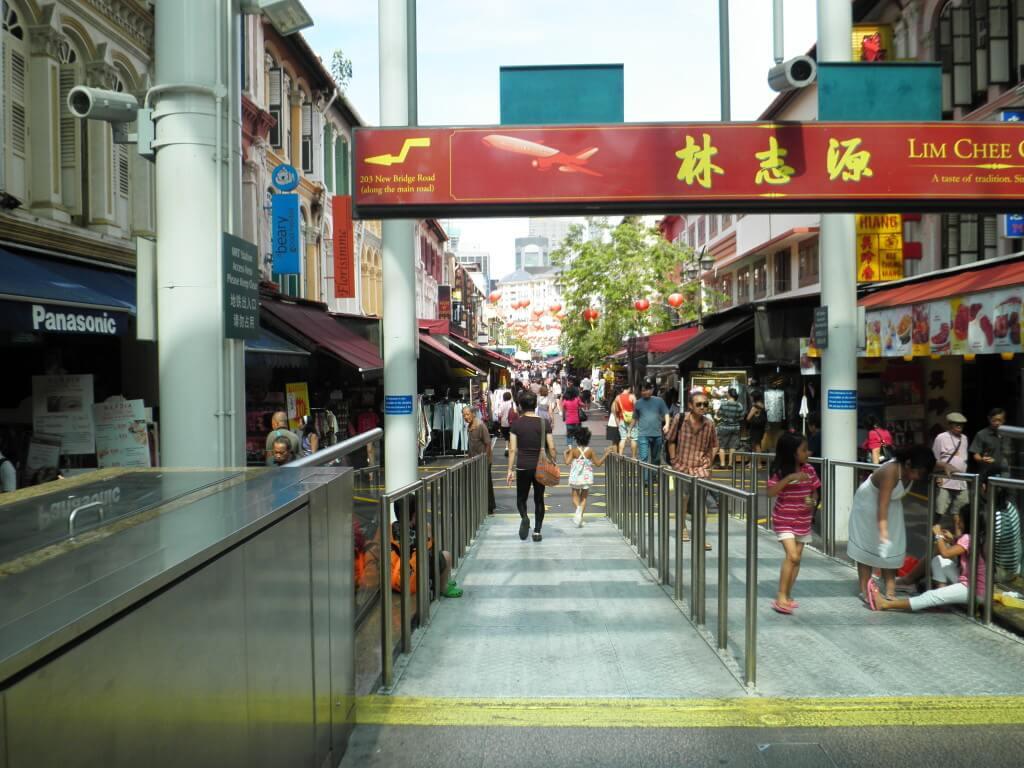 チャイナタウン シンガポール