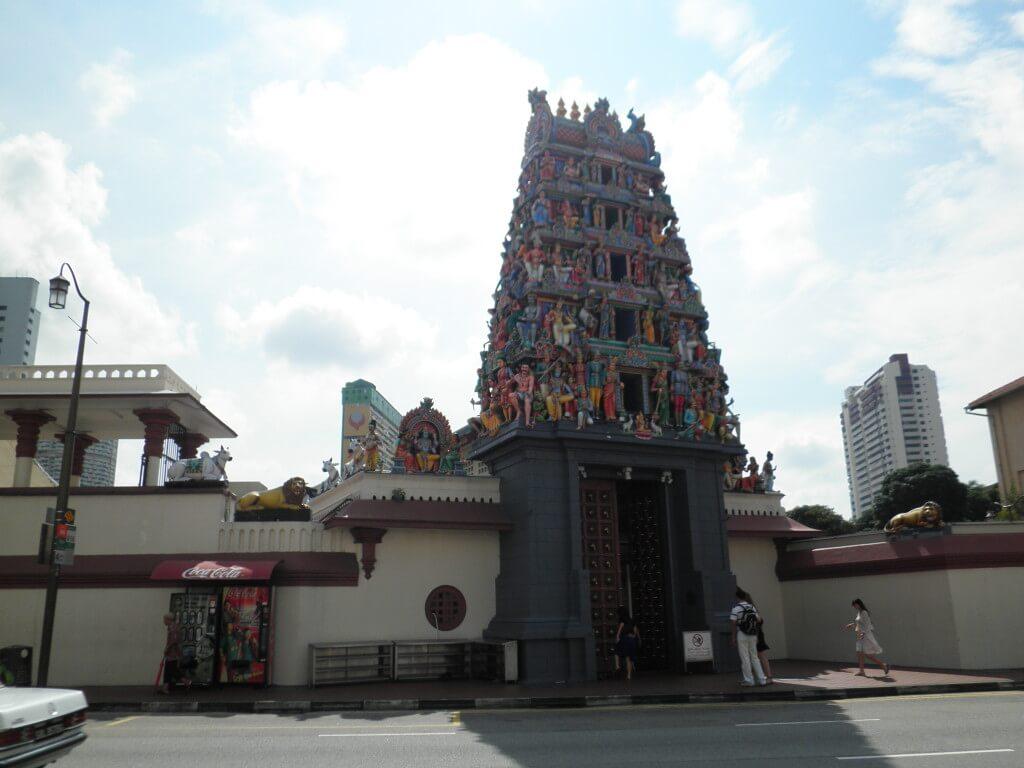 スリ・ヴィラマカリアマン寺院 シンガポール