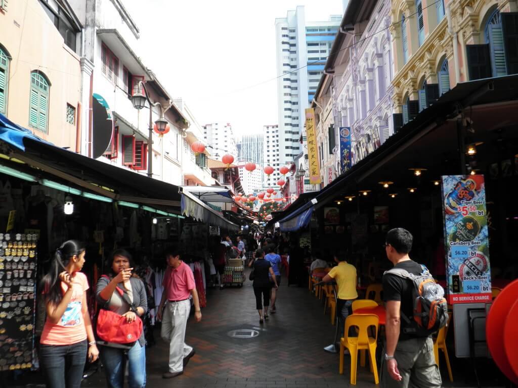 シンガポール 町並み マーケット