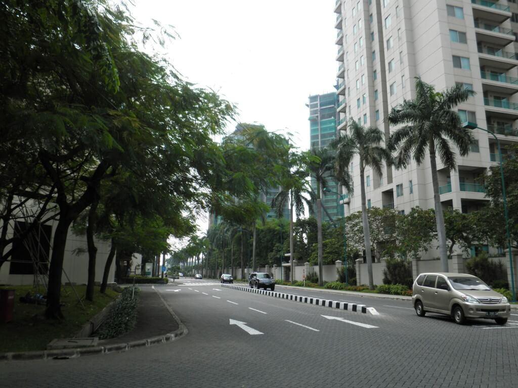 ジャカルタ 町並み