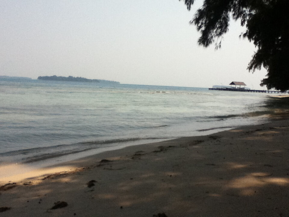 Thousand Island 千の島 インドネシア ビーチ
