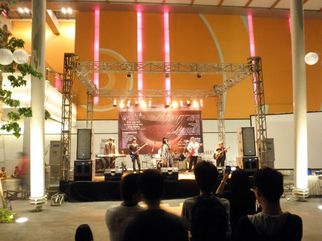 ジャカルタ 日本のコピーバンド