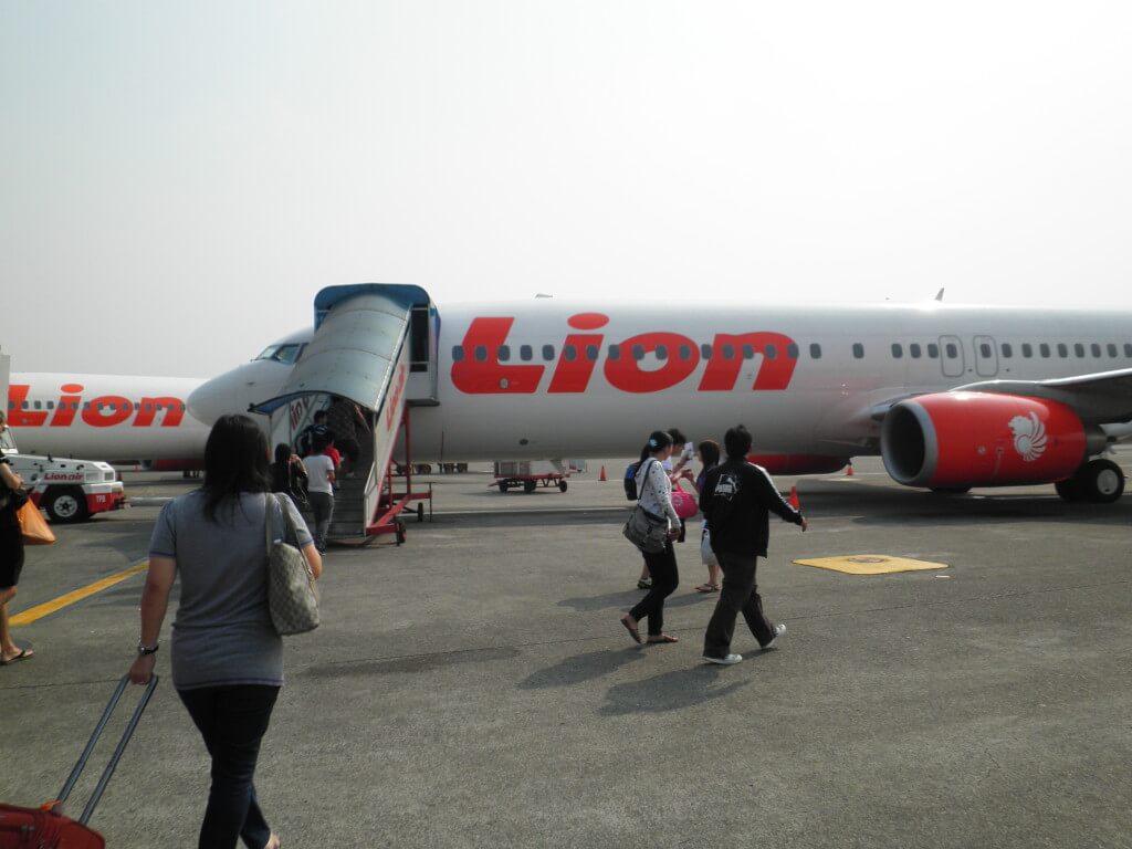 インドネシア Lion Air ライアンエアー