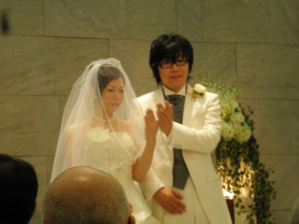 結婚式 日本一時帰国