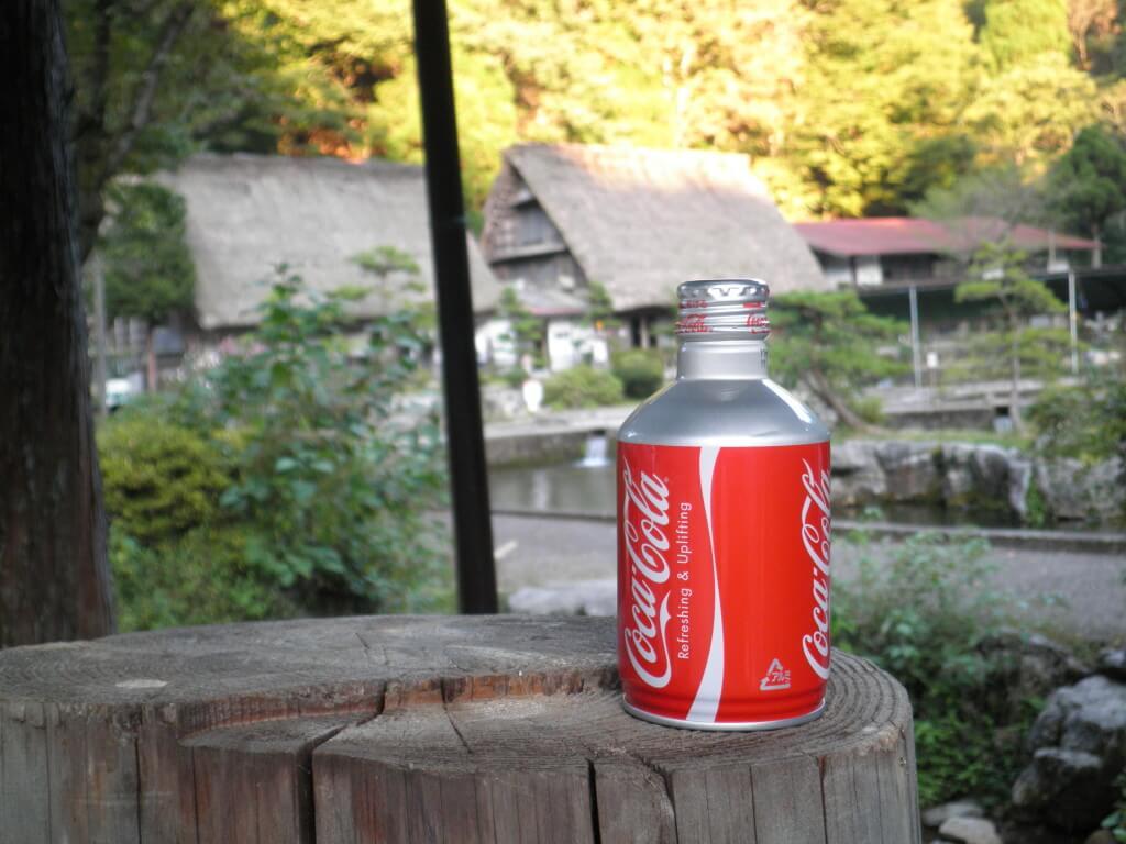 今日のコーラ 岐阜県 日本の風景