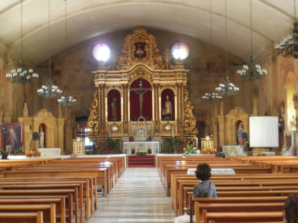 ミアガオ教会は要塞のような感じ!?