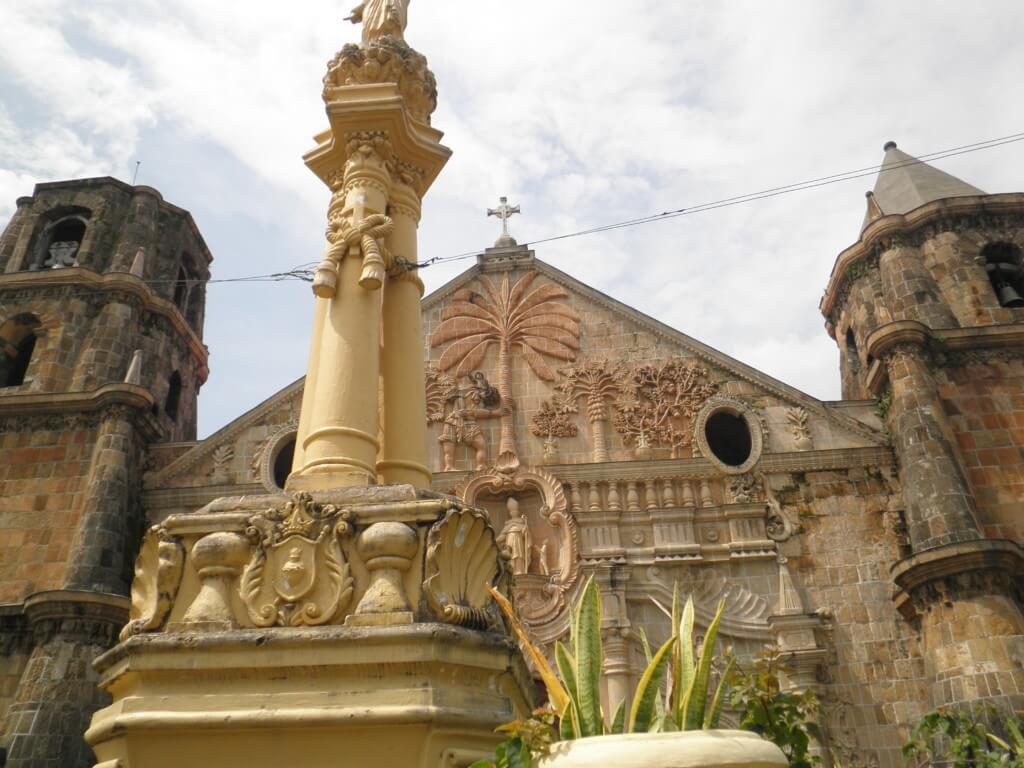 フィリピンの世界遺産のイロイロのミアガオ教会(Miagao Church)