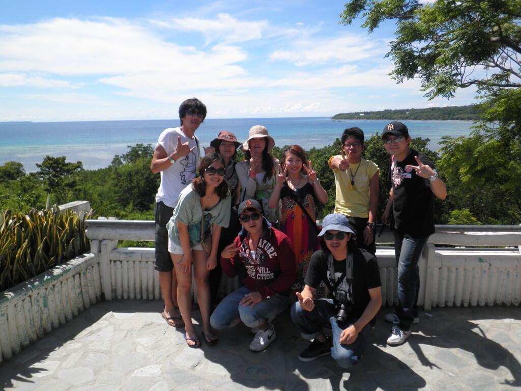 ボホール島観光ツアー!血盟記念碑で写真を撮る!