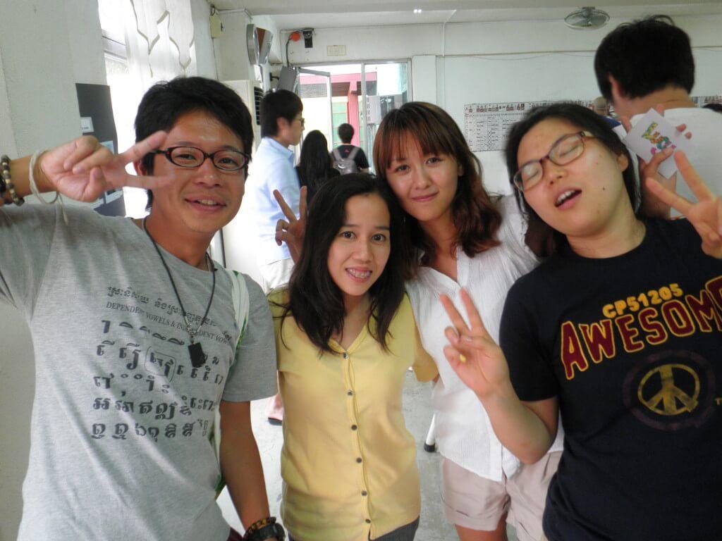 OKEA チューター 韓国人の友達