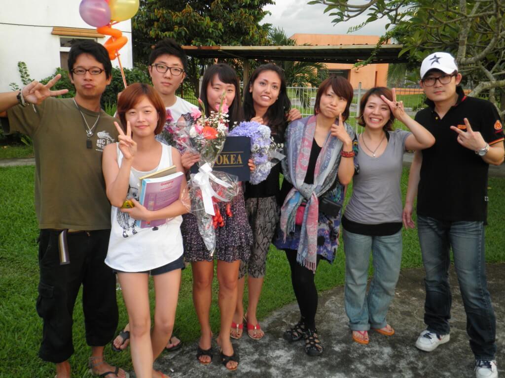 OKEA 卒業記念写真