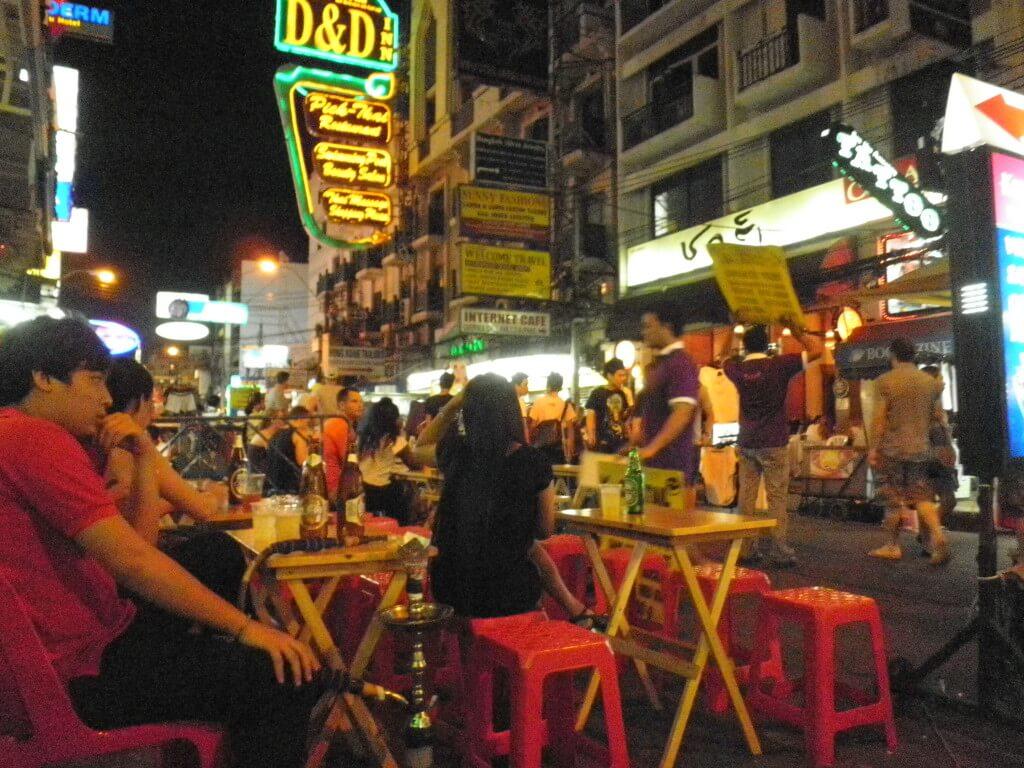 カオサン通り バンコク