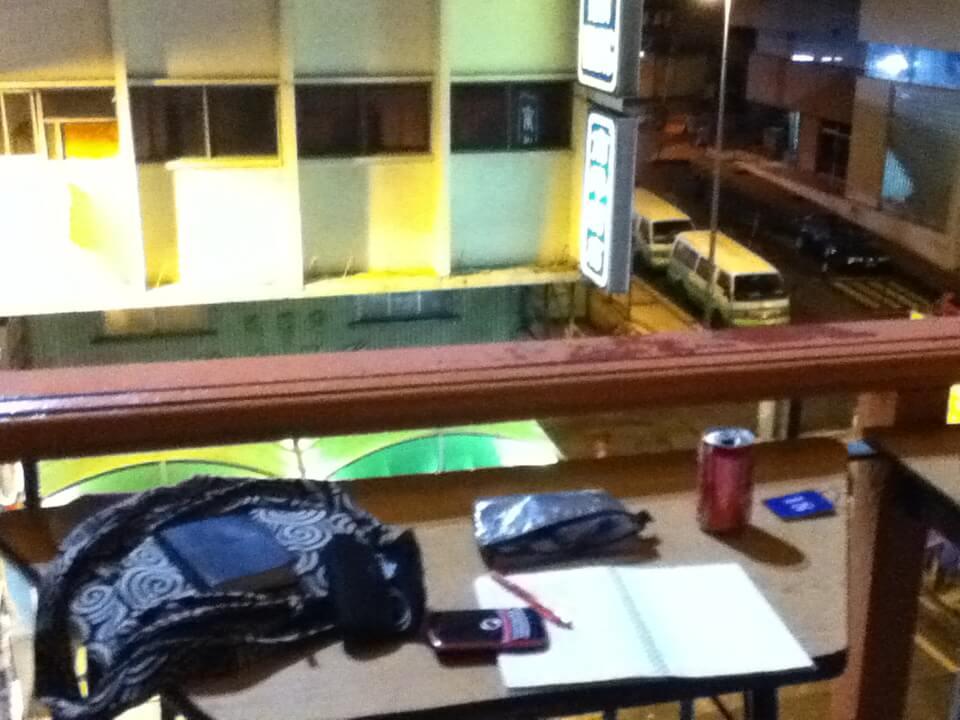 今日のコーラ マレーシアの宿で英語勉強