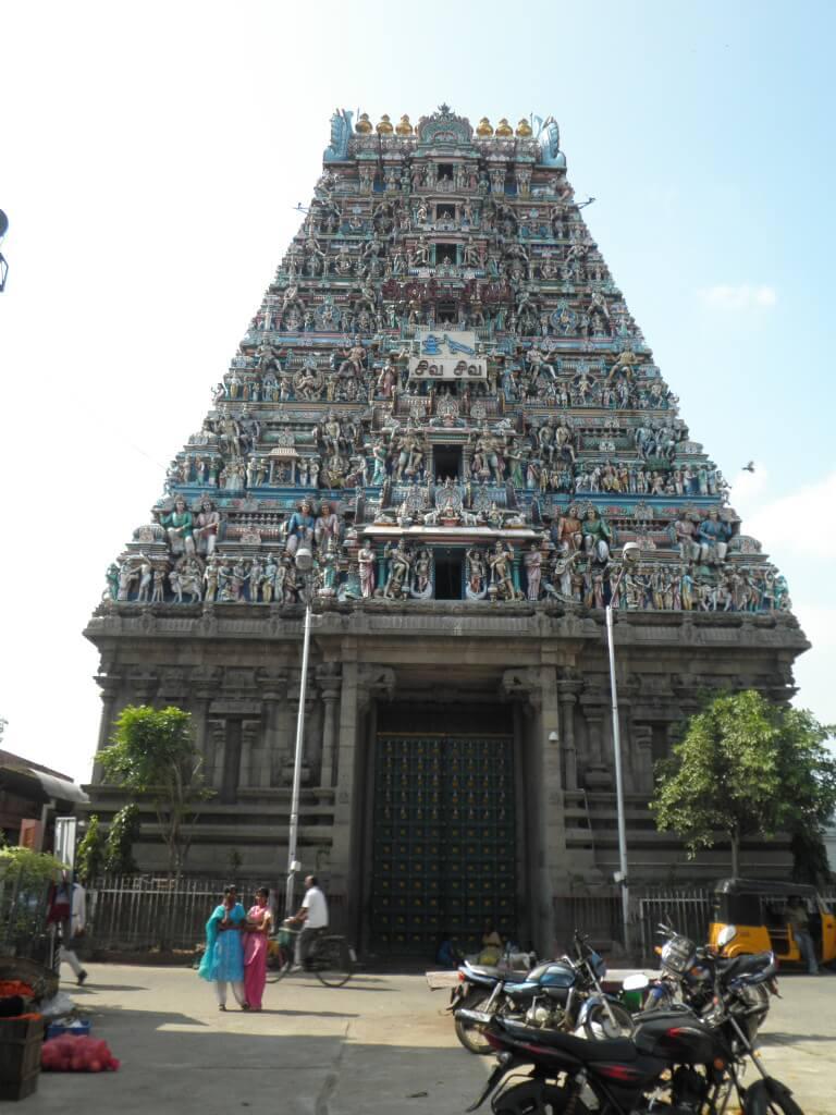 カーパーレーシュワラ寺院 チェンナイ