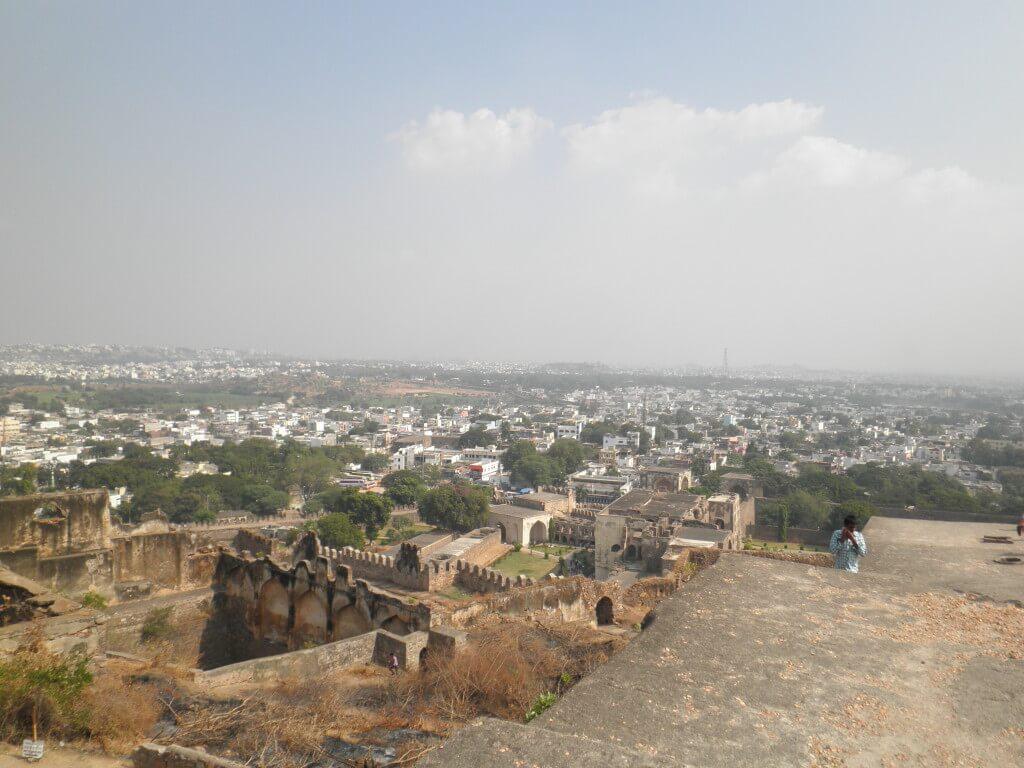ハイダラバード 街の景色