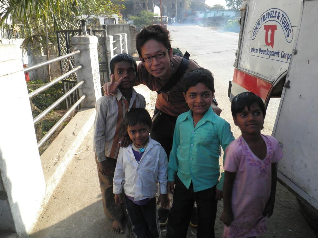 インド人 子供 写真