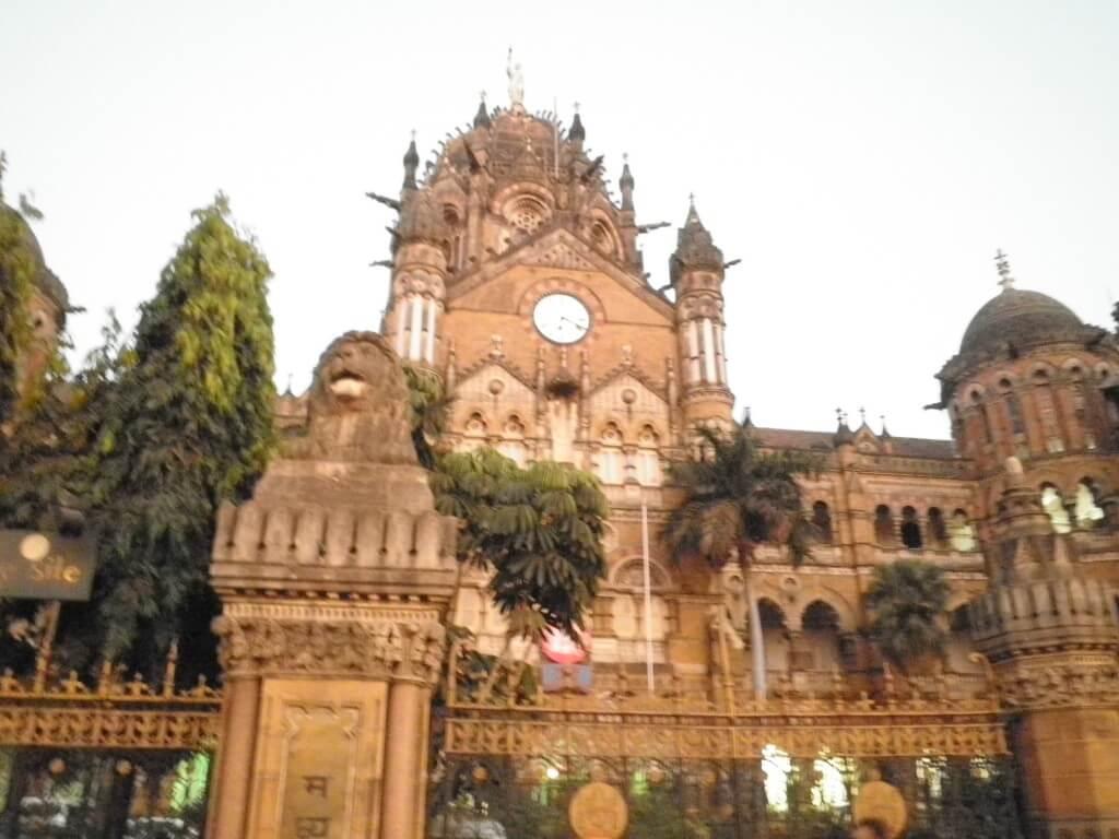 チャトラパティ・シヴァージー・ターミナス駅 ムンバイ 世界遺産