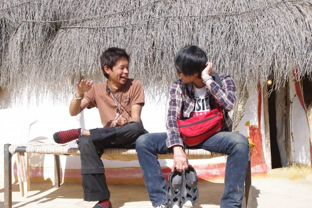 クーリー村 キャメルサファリ 韓国人 ベストフレンド